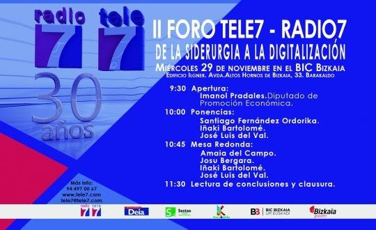 foro tele7 radio 7 siderurgia digitalización